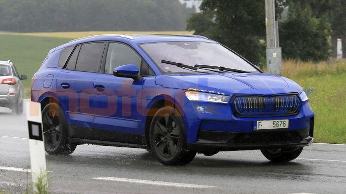 Skoda Enyaq: il SUV elettrico