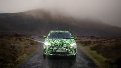 Skoda Enyaq iV: frontale in movimento