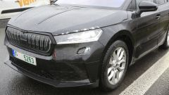 Skoda Enyaq SUV, dettaglio del frontale