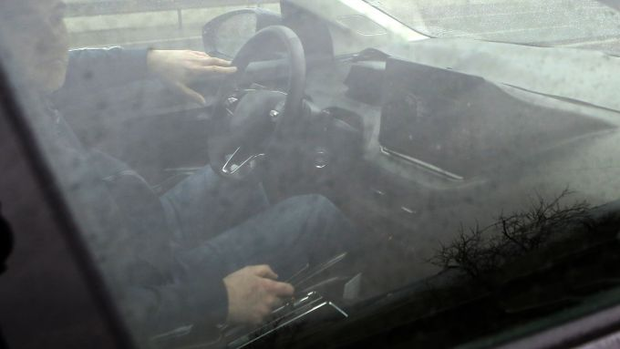 Skoda Enyaq SUV, gli interni
