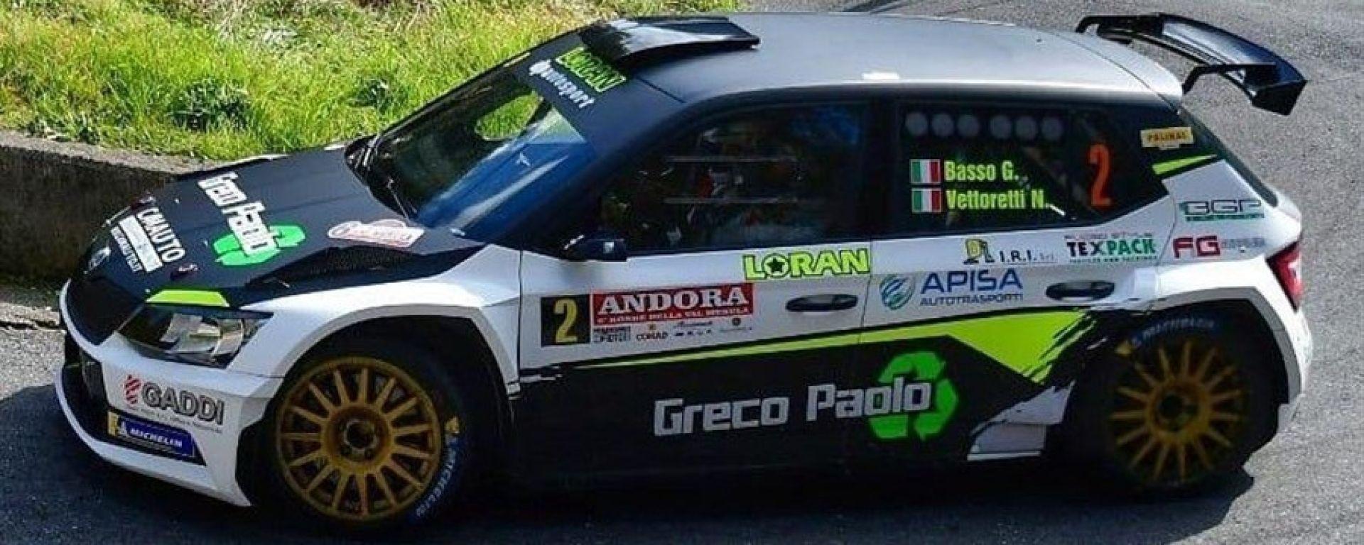 Skoda Fabia R5 Loran: con Basso nel Cir 2019