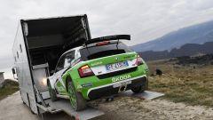 Skoda Fabia R5 pronta per scendere in pista