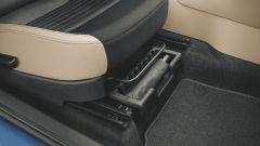 Skoda Fabia: sotto il sedile del passeggero si nasconde un comodo ombrello