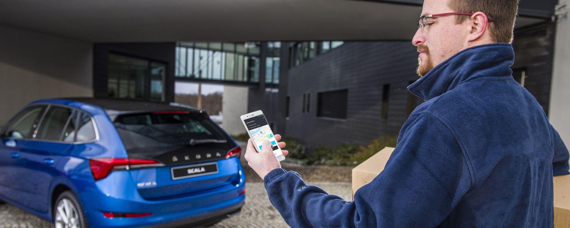 Skoda: gli acquisti online fatteli recapitare in auto