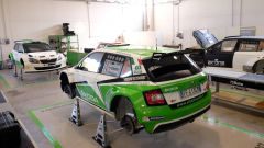 Skoda Italia Motorsport 2016 - Il garage