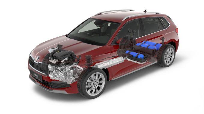 Škoda apre gli ordini di Kamiq G-TEC e Scala Sport Monte Carlo