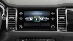 Skoda Kodiaq: il sistema di infotainment supporta Apple CarPlay e Android Auto