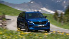 Skoda Kodiaq RS 2021: il SUV sportivo in azione