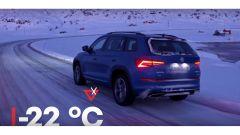 Skoda Kodiaq RS: la sfida al Circolo Polare Artico [VIDEO] - Immagine: 9