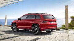 Skoda Kodiaq Sportline: SUV grintoso, motorizzazioni Diesel - Immagine: 2