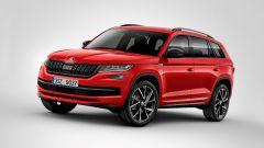 Skoda Kodiaq Sportline: SUV grintoso, motorizzazioni Diesel - Immagine: 3
