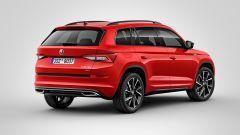 Skoda Kodiaq Sportline: SUV grintoso, motorizzazioni Diesel - Immagine: 4