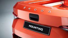 Skoda Mountiaq: dettaglio bedge posteriore