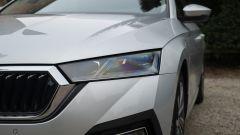 Skoda Octavia iV Wagon plug-in hybrid, il gruppo ottico anteriore