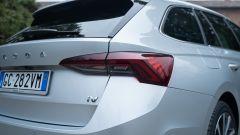 Skoda Octavia iV Wagon plug-in hybrid, il gruppo ottico posteriore
