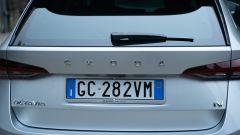 Skoda Octavia iV Wagon plug-in hybrid, la firma della Casa ceca