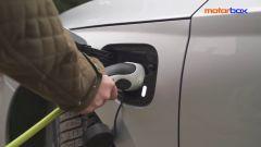 Skoda Octavia iV Wagon plug-in hybrid, la presa di ricarica