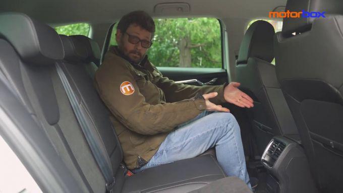 Skoda Octavia iV Wagon, tanto spazio per chi siede dietro