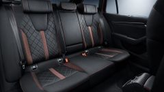 Skoda Octavia RS 2020: abitacolo, la parte posteriore