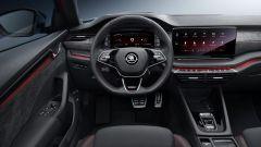 Skoda Octavia RS 2020: gli interni e il nuovo volante