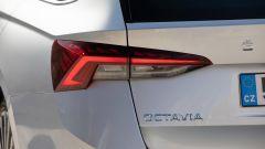 Skoda Octavia Wagon 2020, il gruppo ottico posteriore