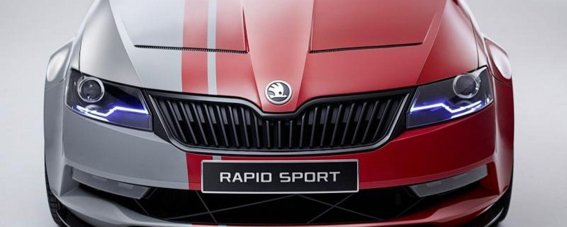 Skoda Rapid Sport: le nuove foto