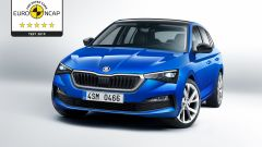 Skoda Scala: 5 stelle ai test Euro NCAP