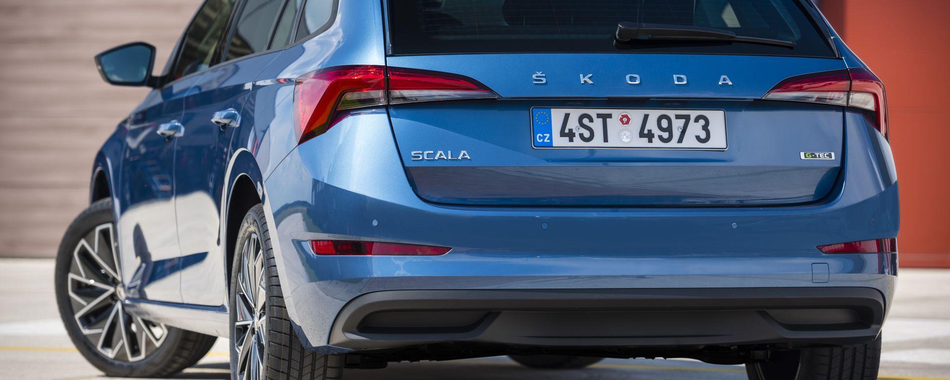 Skoda Scala G-Tec, in arrivo la versione a metano