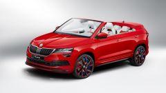 Skoda Sunroq, ecco la concept di Karoq cabriolet. Andrà in produzione?
