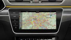 Skoda Superb iV, display di navigazione