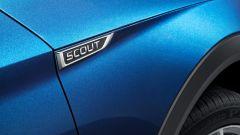 Skoda Superb Scout: dettaglio etichetta