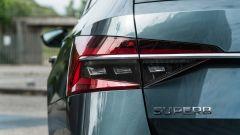 Skoda Superb Wagon 2.0 TDI DSG Style: anche i fari posteriori sono full LED