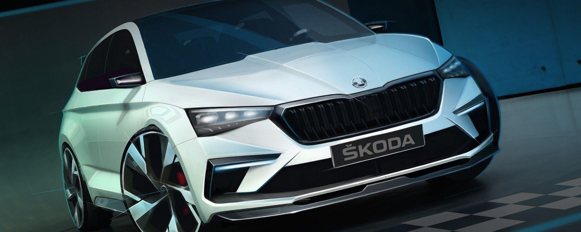 Skoda: uno studio di design per la concept Vision RS, che anticipa gli stilemi dei modelli futuri
