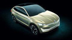 Skoda Vision-e concept: SUV elettrico con 500 km di autonomia
