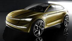 Skoda Vision E: la concept elettrica debutterà al Salone di Shanghai