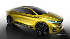 Skoda Vision iV, l'auto elettrica in formato Suv coupé - Immagine: 3