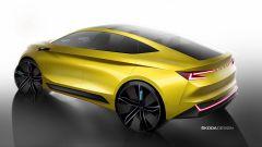 Skoda Vision iV, l'auto elettrica in formato Suv coupé - Immagine: 4