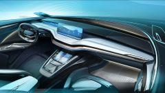Skoda Vision iV, l'auto elettrica in formato Suv coupé - Immagine: 12