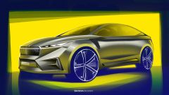 Skoda Vision iV, l'auto elettrica in formato Suv coupé - Immagine: 13