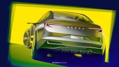 Skoda Vision iV, l'auto elettrica in formato Suv coupé - Immagine: 15