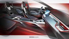 Skoda Vision RS: gli interni