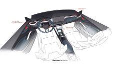 Skoda Vision RS hybrid: bozzetti dell'abitacolo