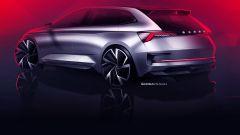 Skoda Vision RS: vista 3/4 posteriore