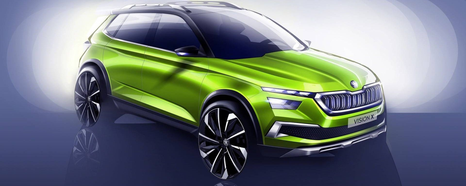 Skoda Vision X Concept: debutterà al Salone di Ginevra 2018