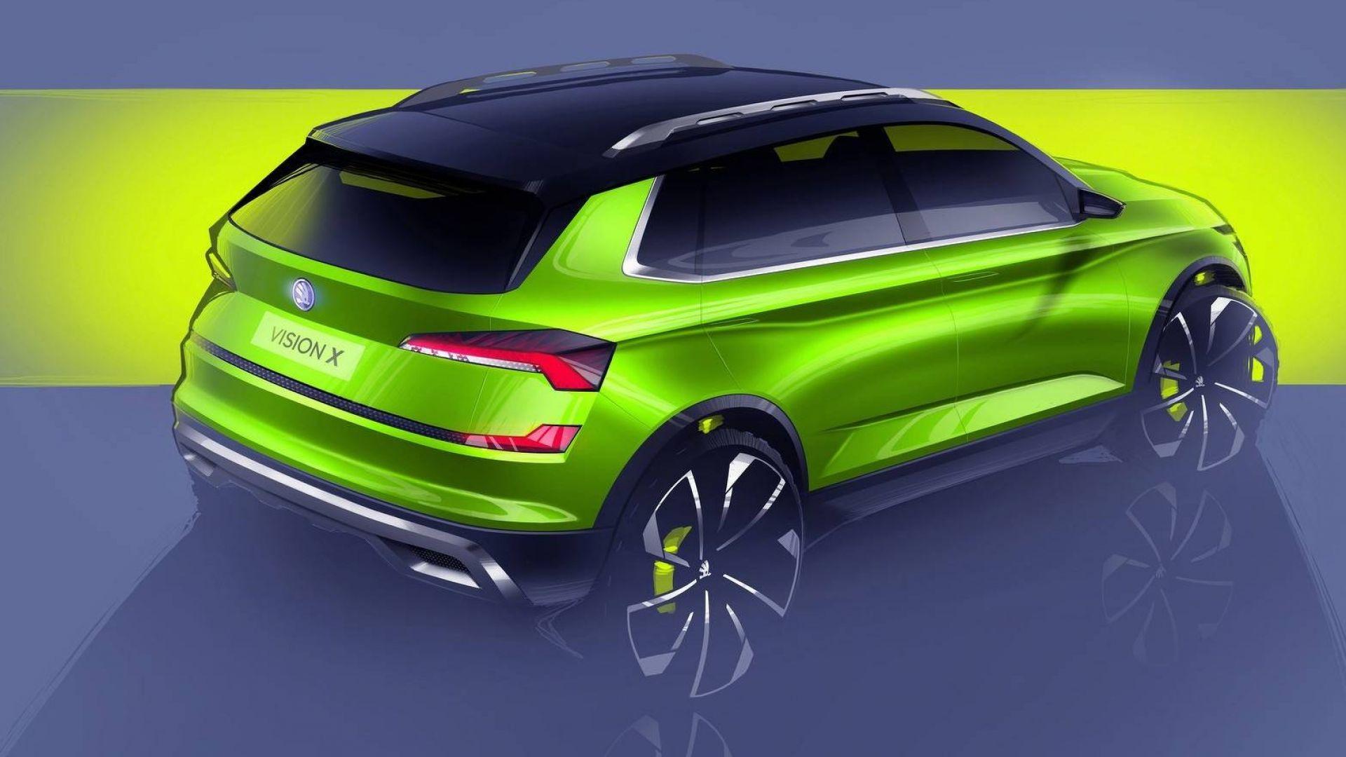 Skoda Vision X Concept: ecco com'è il piccolo SUV, si ...