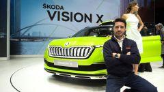Skoda Vision X Concept: in video dal Salone di Ginevra 2018 - Immagine: 1