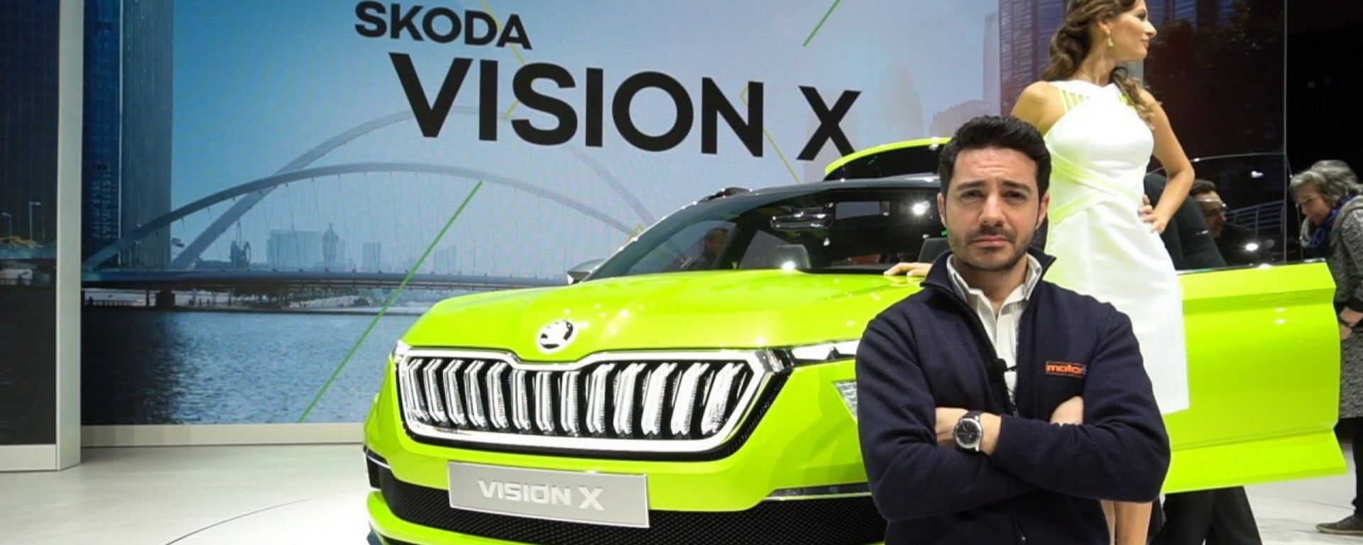 Skoda Vision X Concept: in video dal Salone di Ginevra 2018