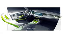 Skoda Vision X Concept: gli interni