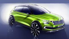 Skoda Vision X Concept: vista 3/4 anteriore