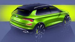 Skoda Vision X Concept: vista 3/4 posteriore